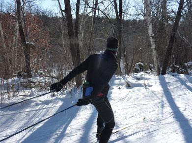 At long last, real skiing
