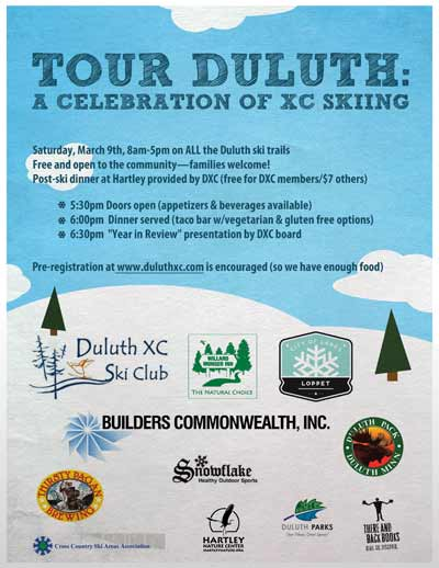 Tour Duluth, an urban ski challenge this weekend