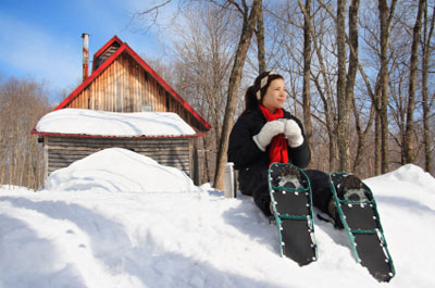 Learn to snowshoe, North Shore style