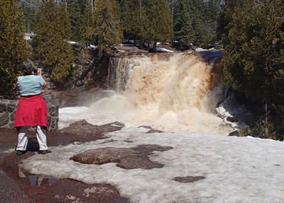 Upper Falls, Gooseberry River