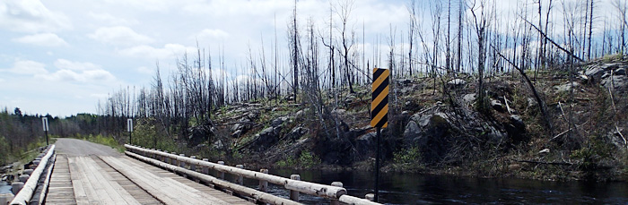 On the trail of the Pagami Creek Fire