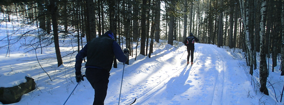 Get the skinny on XC ski trails