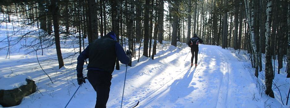 Get the skinny on XC ski trails