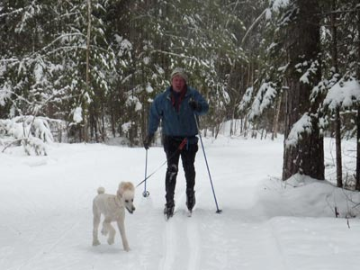 North Shore dog ski…the Ultimate Outdoor Experience?