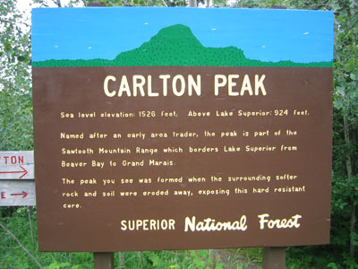 Carlton Peak: Because it's there