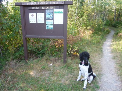 Hiking Ely's Secret-Blackstone trail