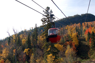 Lutsen gondola: Why hike when you can stroll?