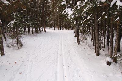 Pattison Park: Skiing the snowbelt