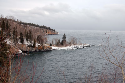 Tettegouche in winter