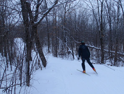 Spirit Mountain nordic trails: The same, only better