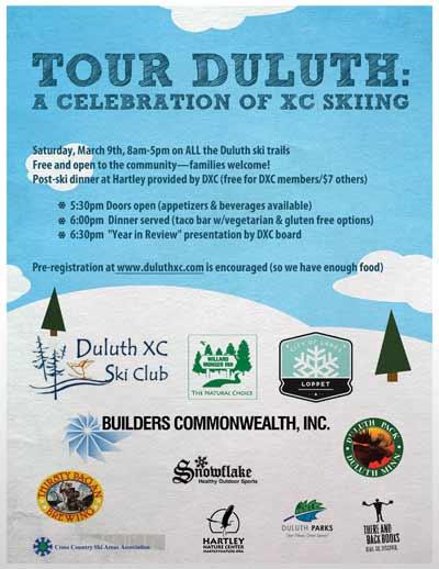 Tour Duluth, an urban ski challenge this weekend