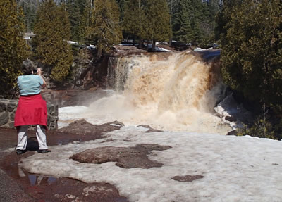 Upper Falls, Gooseberry River