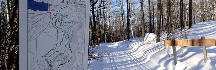 New and improved Hartley Nature Center ski trails