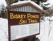 Discover Biskey Ponds cross country ski trail