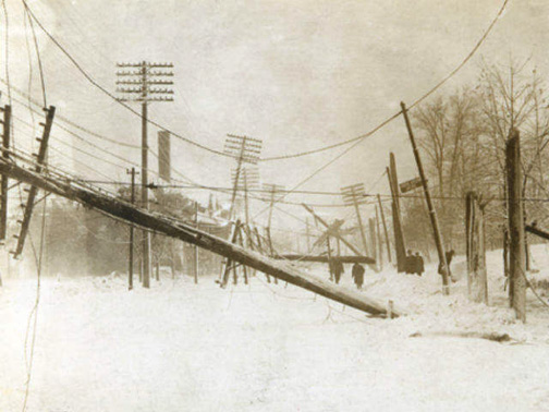 Cleveland was perhaps the hardest-hit city by the deadly 1913 storm.