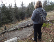 Hiking the SHT's Silver Creek near Two Harbors